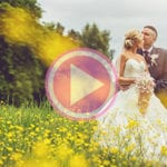 David & Charlene's stunning mini movie - Dalziel Park wedding photographers