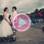 Cottiers wedding photography - Chris & Audrey's amazing mini movie