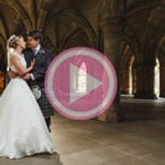 Sherbrooke Castle wedding photography - Kirsty & Jamie's fantastic mini movie