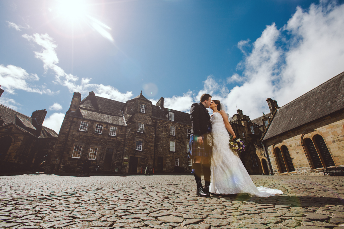 Stirling wedding photographers