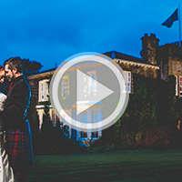 dalmeny Glasgow wedding photographer